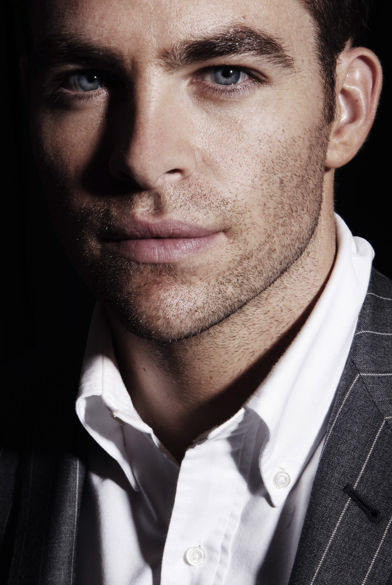 Actor Chris Pine, a cast member in the upcoming film {quote}Star Trek{quote}, poses for a portrait in Beverly Hills, Calif. on Sunday, April 26, 2009. (AP Photo/Matt Sayles)