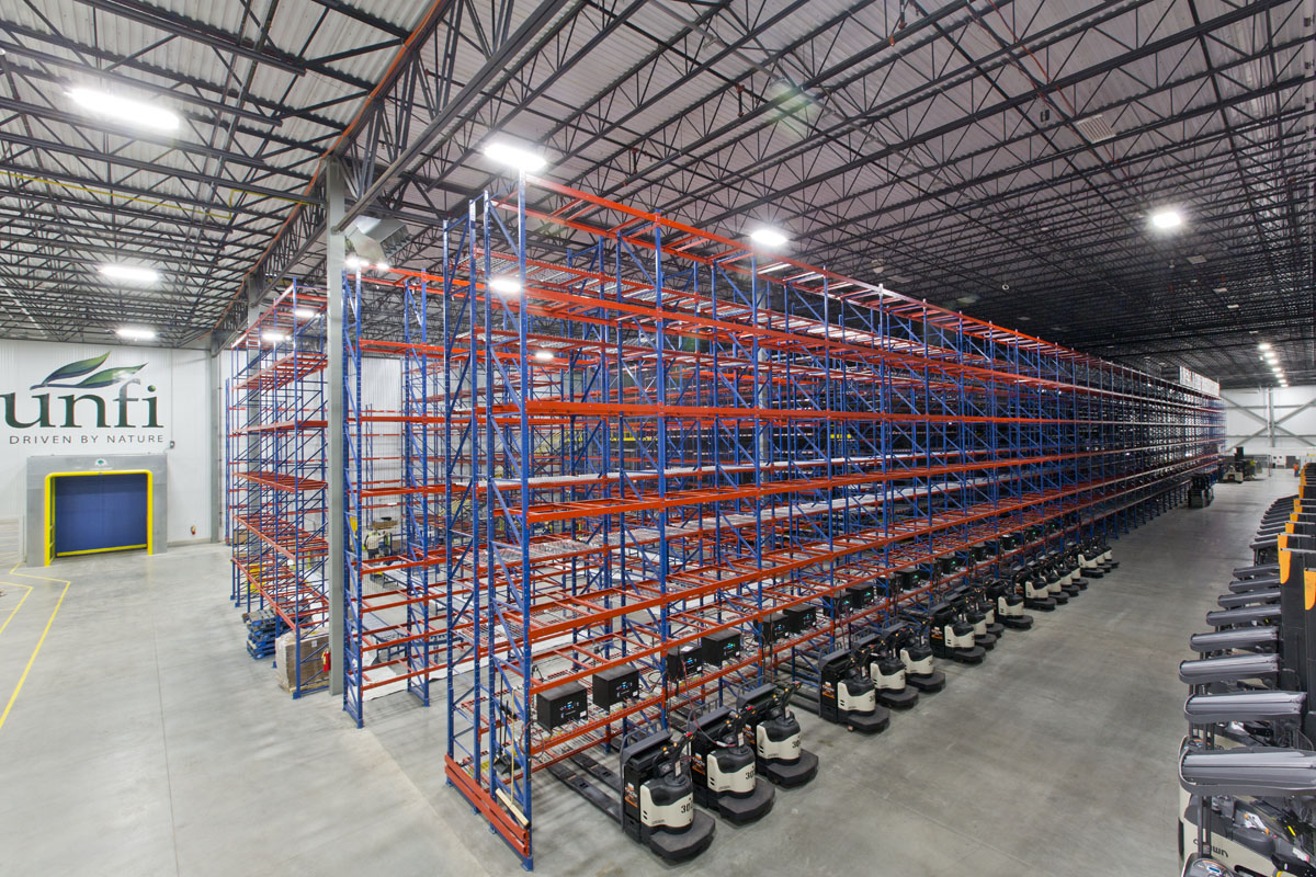 600,000 sf Cold storage facility for grocery market