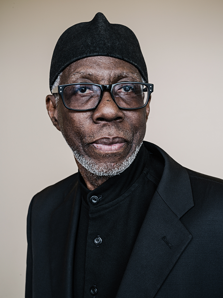 Imam Abdullah el Amin, stands for a photograph after attending the annual banquet of the Council of American Islamic Relations, Dearborne, Michigan, April 2, 2017. Founded in June 1994, CAIR states their mission is to enhance understanding of Islam, encourage dialogue, protect civil liberties, empower American Muslims, and build coalitions that promote justice and mutual understanding.Portraits of Muslims In America: Today an estimated 3.45 milliion Muslims In America are living in a climate of hostility, their faith distorted by violent extremist on one end and an anti-Muslim movement on the other. The rise in anymosity was stoked by fiery rhetoric from conservative commentators and politicians, including President Trump, who has repeatedly described Islam as as threat. Islam, however has long been part of the tapestry of American identity. Portraits commissioned by National Geographic and published in the April 2018 issue.