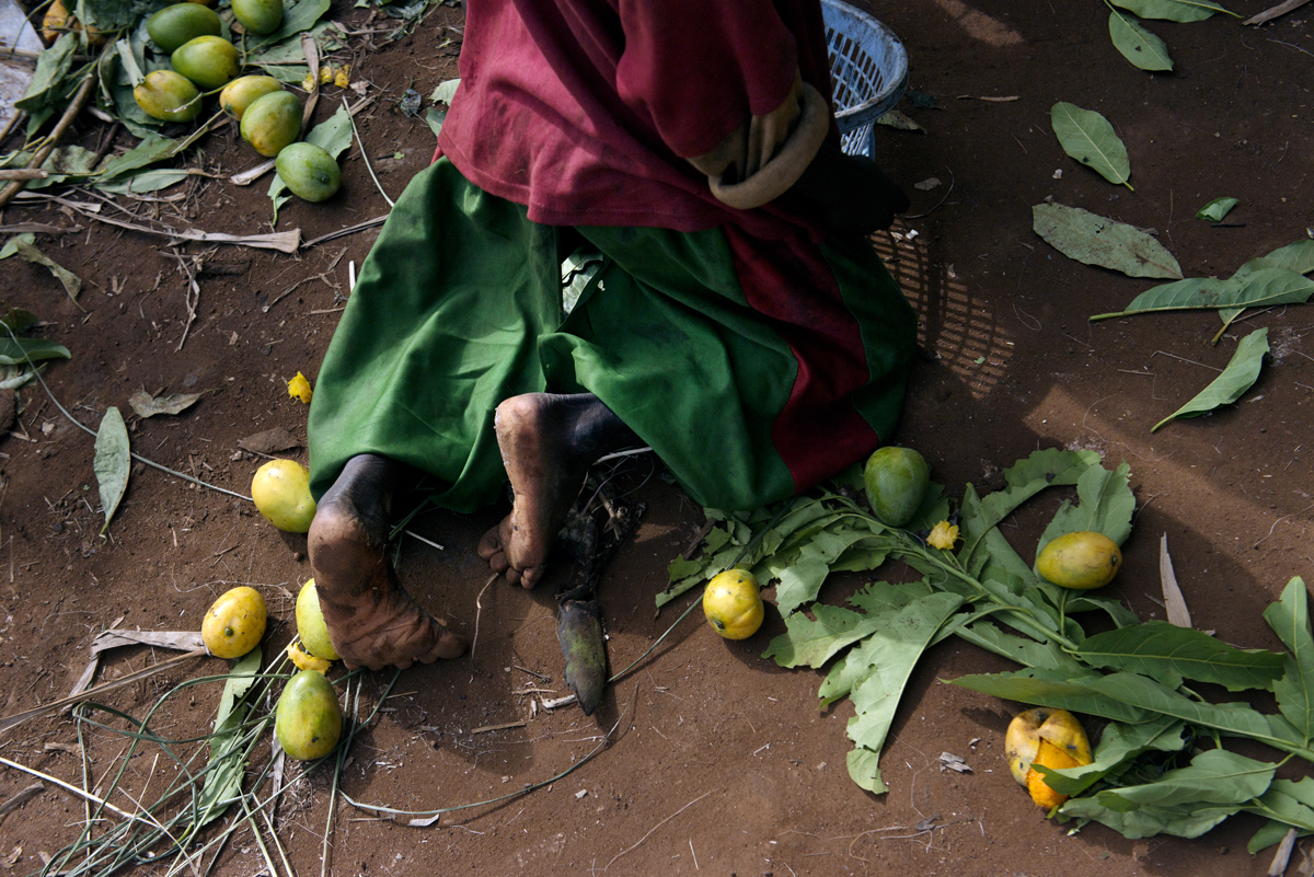 Atiak mango season comes to a close as locals prepare their goods to be shipped to Kampala for resale.