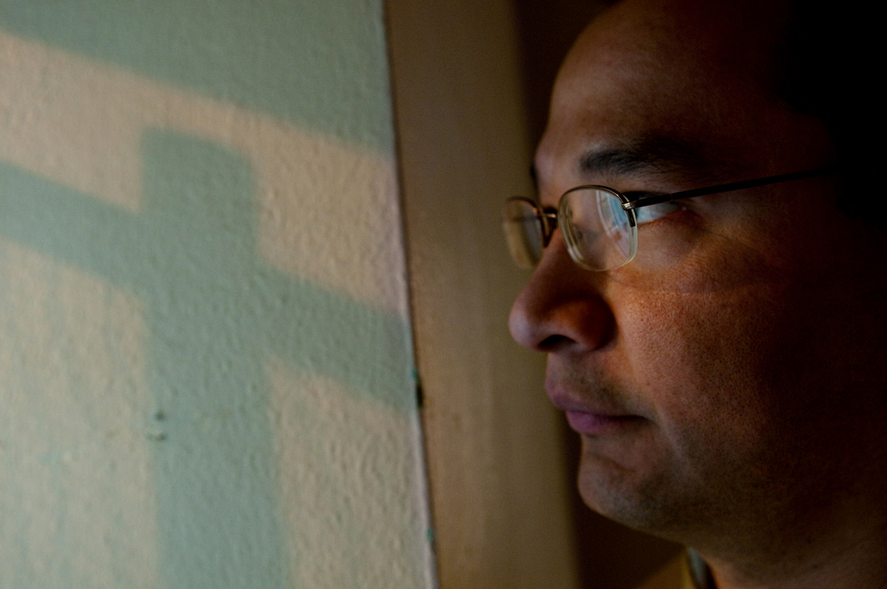 Manuel Cruz, is seen inside The Aurburn Correctional facility, where he is serving the final seven years of