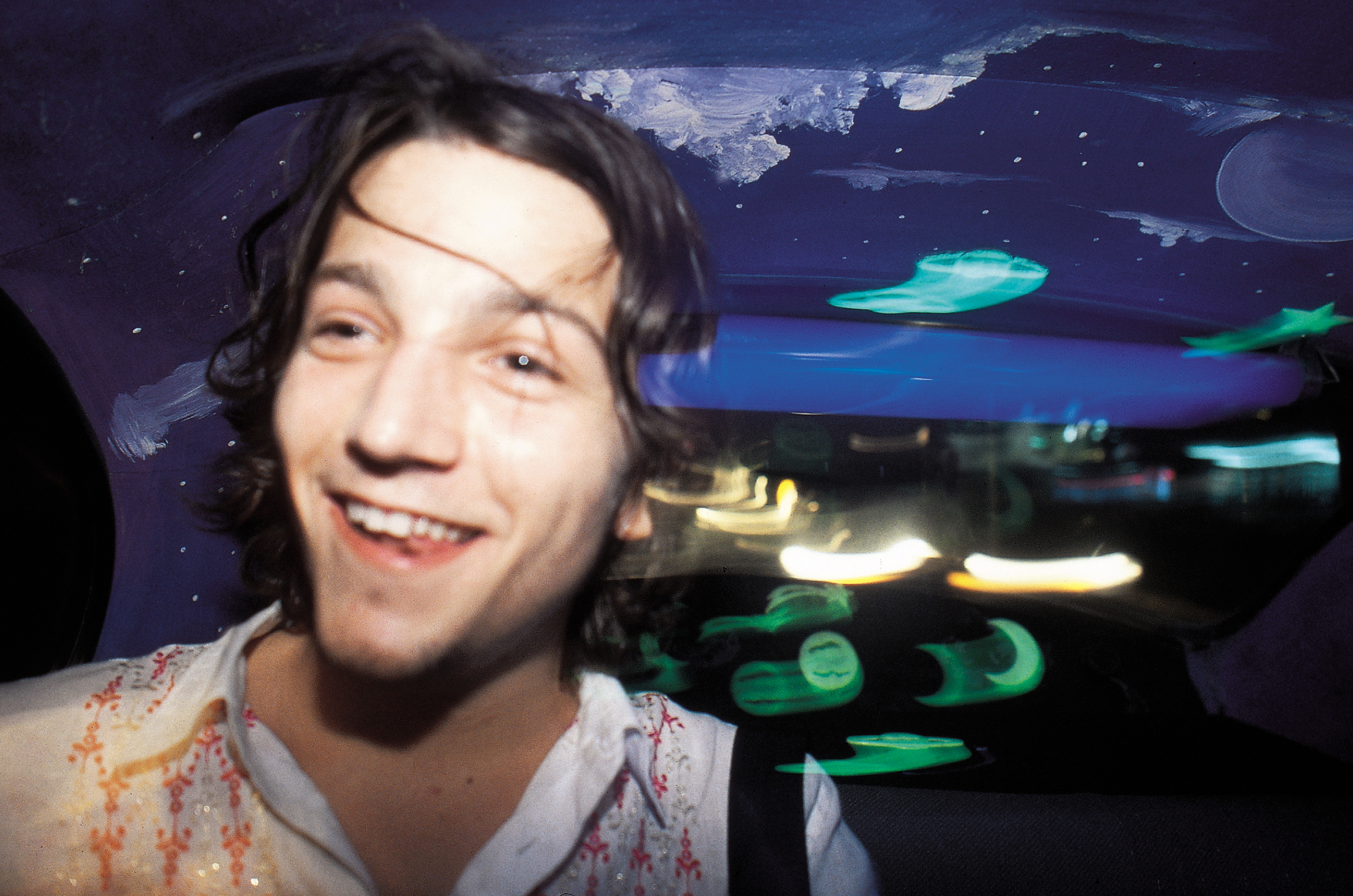 Actor Diego Luna in a taxi during a day in Acapulco for a photo shoot. 07-02