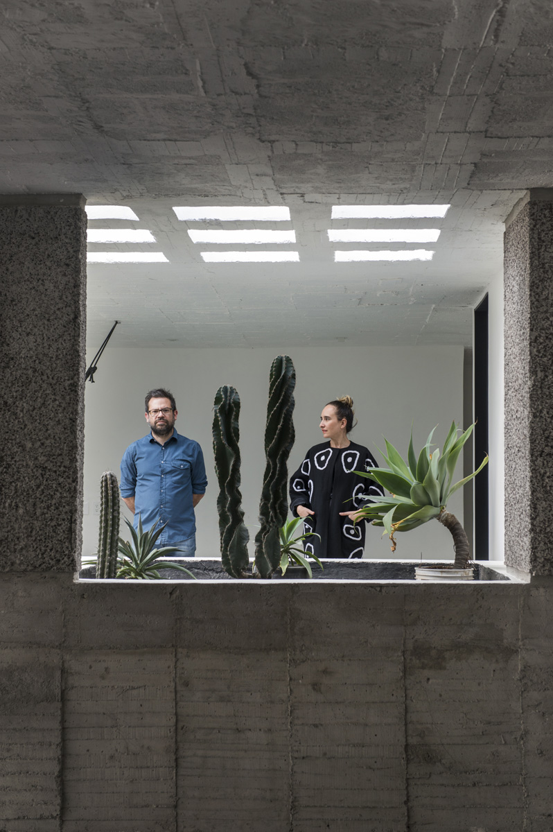 Carla Fernandez¥s and Pedro Reye¥s house in Coyoacan, Mexico City