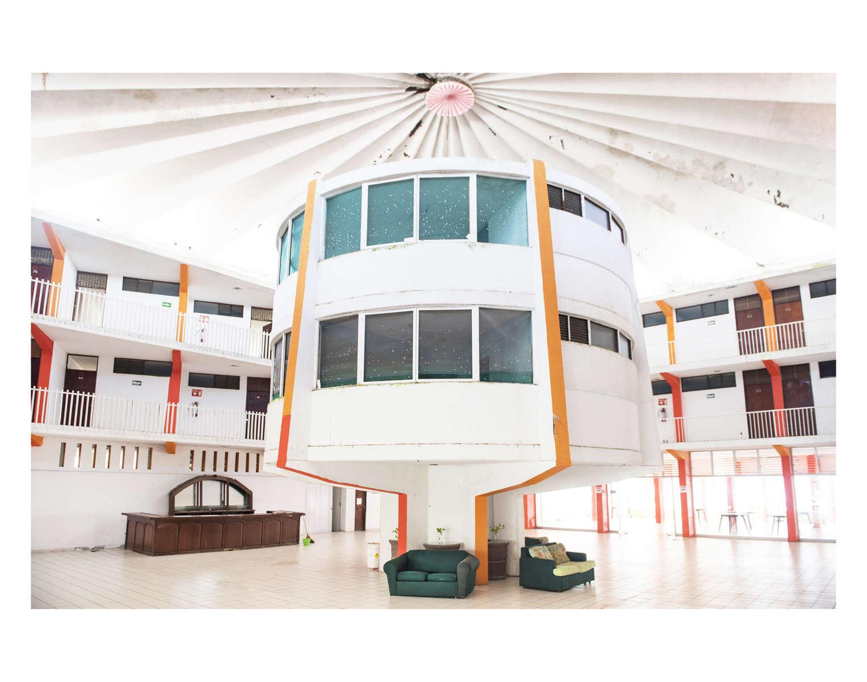 Hotel Maria Victoria in Cuyutlan (architect Saenz?), Colima, Mexico