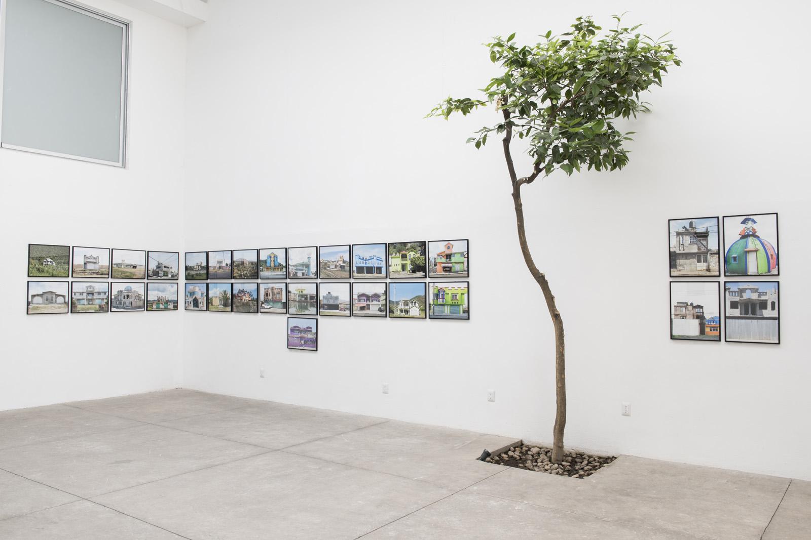 Arquitectura Libre at Adam Wisemans exhibition {quote}Lo que sucede{quote} at the Patricia Conde Gallery in San Miguel Chapultepec, Mexico
