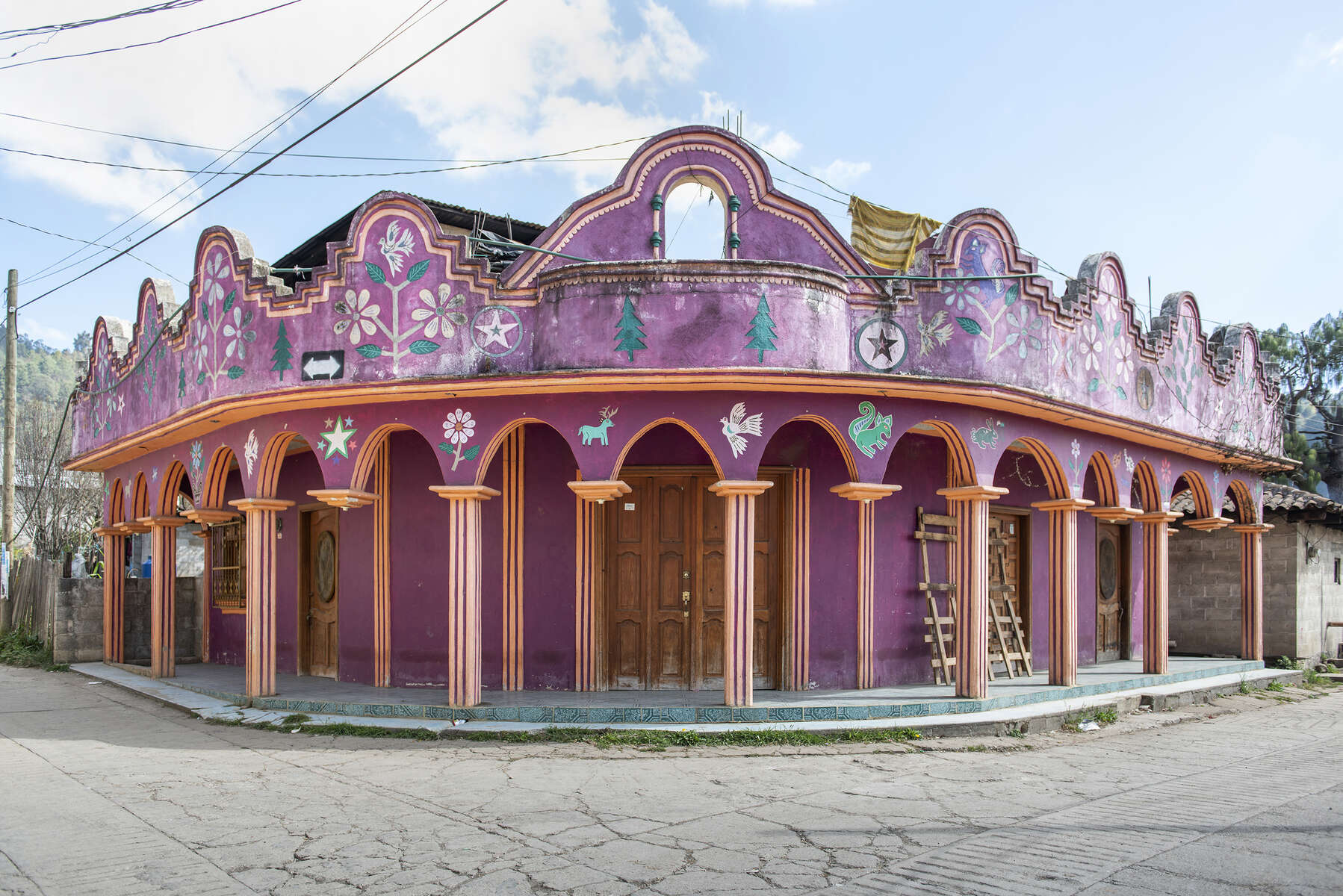 Arquitectura Libre / Free Architecture. Navenchauc, Chiapas, Mexico