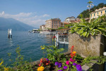 View of Bellagio, Italy from the walkway along Lake Como. To purchase this image, please go to my stock agency click here.