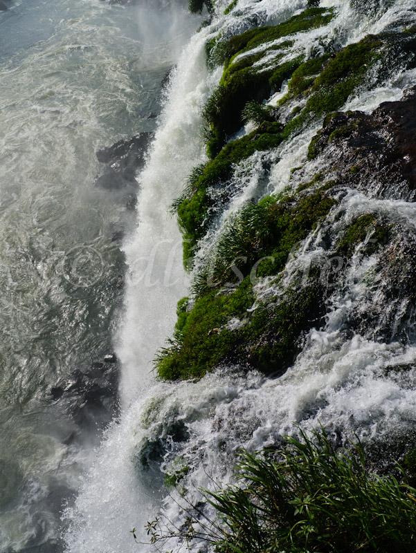 Image of the cataracts at Iguazu Falls, Foz de Iguazu, Brazil.