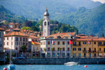 Harbor of Menaggio Italy from Lake Como. To purchase this image, please go to my stock agency click here.