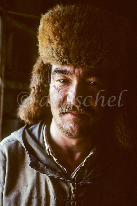 Siberian trapper in the Krasnoyarsk Krai region of northern Siberia. To purchase this image, please go to my stock agency click here.