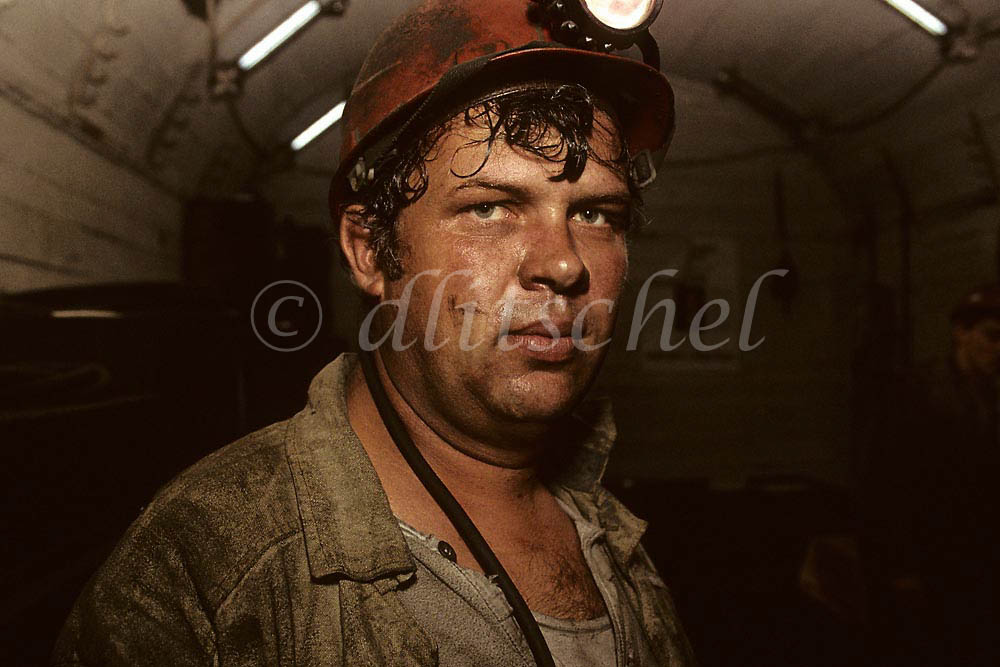 Mine worker, Norilsk Nikel, Norilsk, Siberia. To purchase this image, please go to my stock agency click here.