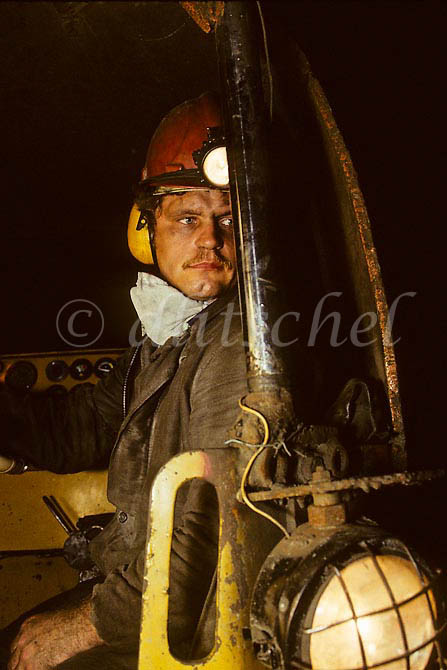 Mine worker, Norilsk, Kranoyarsk Krai, Siberia. To purchase this image, please go to my stock agency click here.