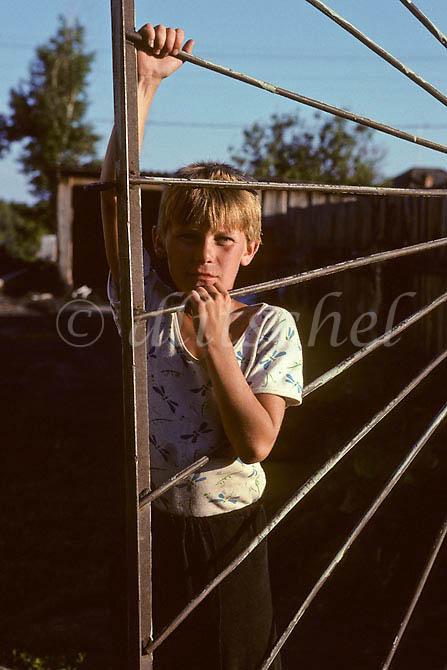 Siberian male youth, Krasnoyarsk Krai, Siberia. To purchase this image, please go to my stock agency click here.
