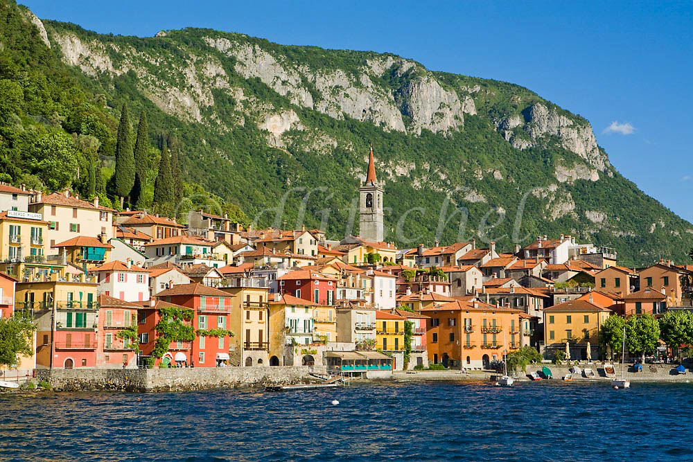 A view of Varenna from the Lake Como ferry. To purchase this image, please go to my stock agency click here.