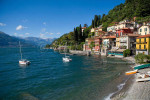 The view of Lake Como from Varenna Italy. To purchase this image, please go to my stock agency click here.
