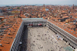 St. Mark's Square, from St Mark's Campanile in Venice, Italy. To purchase this image, please go to my stock agency click here.
