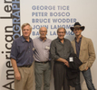 With Peter Bosco, Bruce Wodder and George Tice