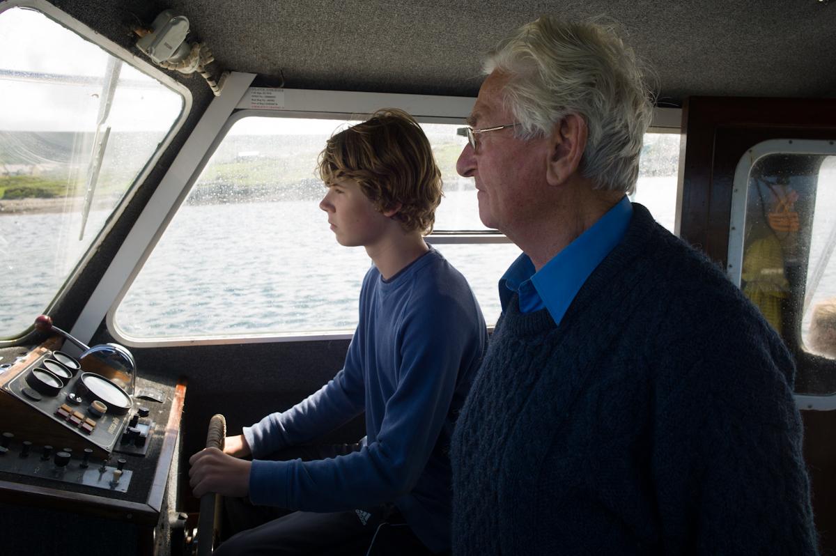 Jordan and Captain Joe Roddy