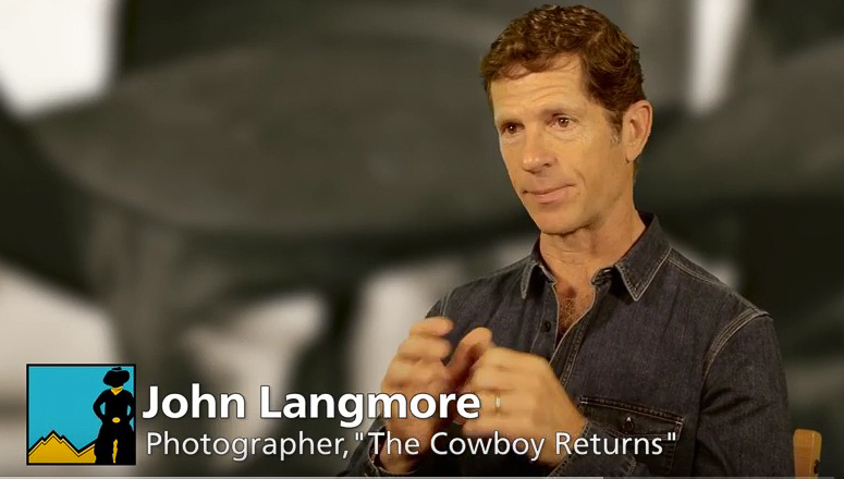 John discusses his and his father's work on the American cowboy.