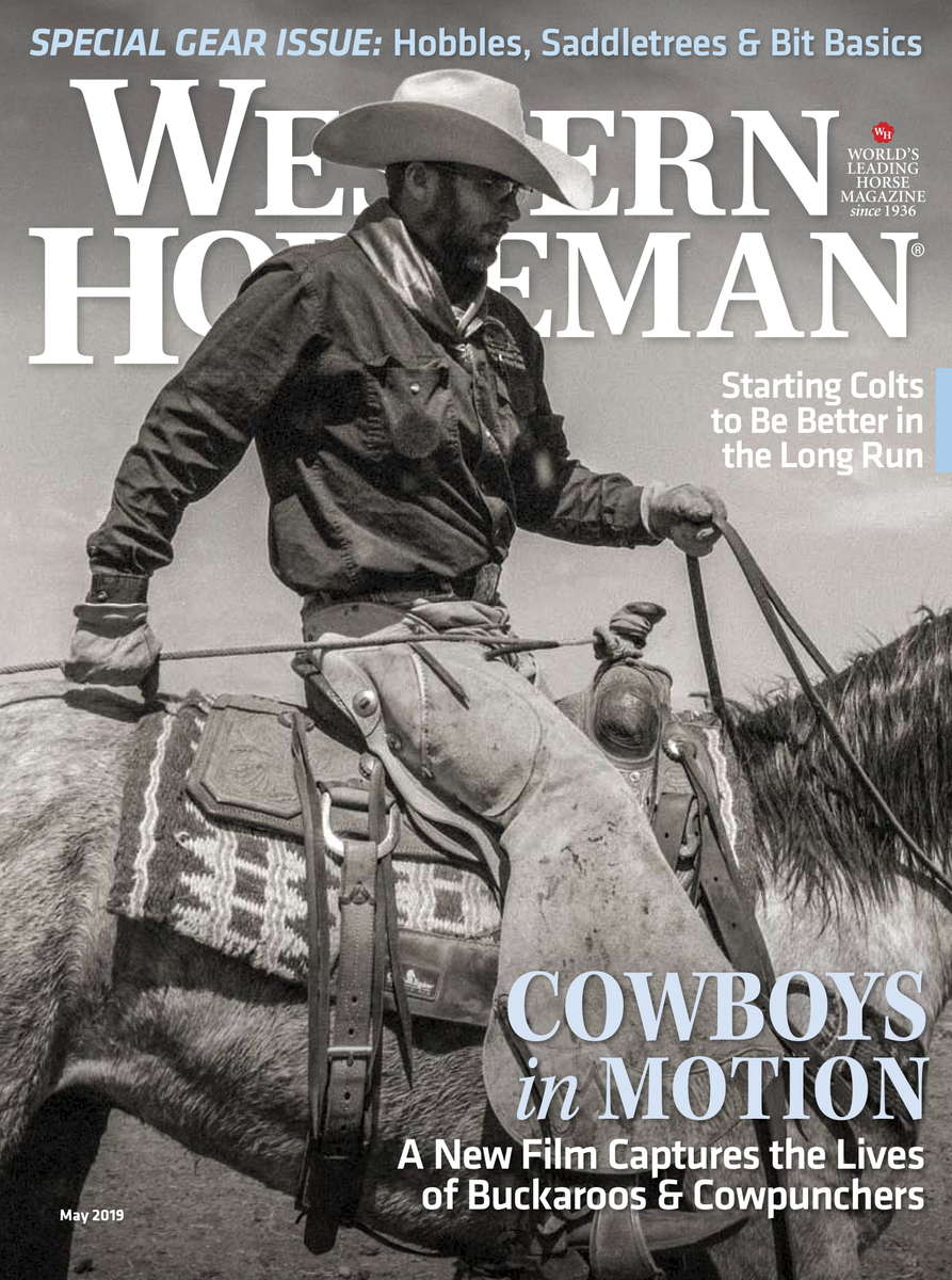 {quote}Cowboys{quote} in the May 2019 edition of the Western Horseman.