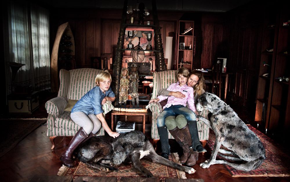 Du Toit family portrait