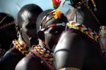 Samburu warriors.