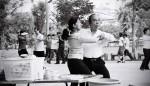 Ballroom dancing in Lumpini Park