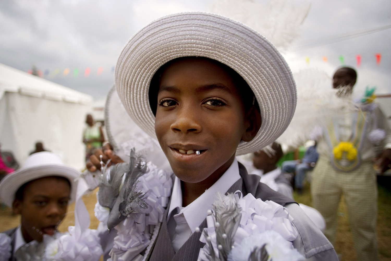 Old and New Style Fellas, second line dance.New Orleans. For The New York Times