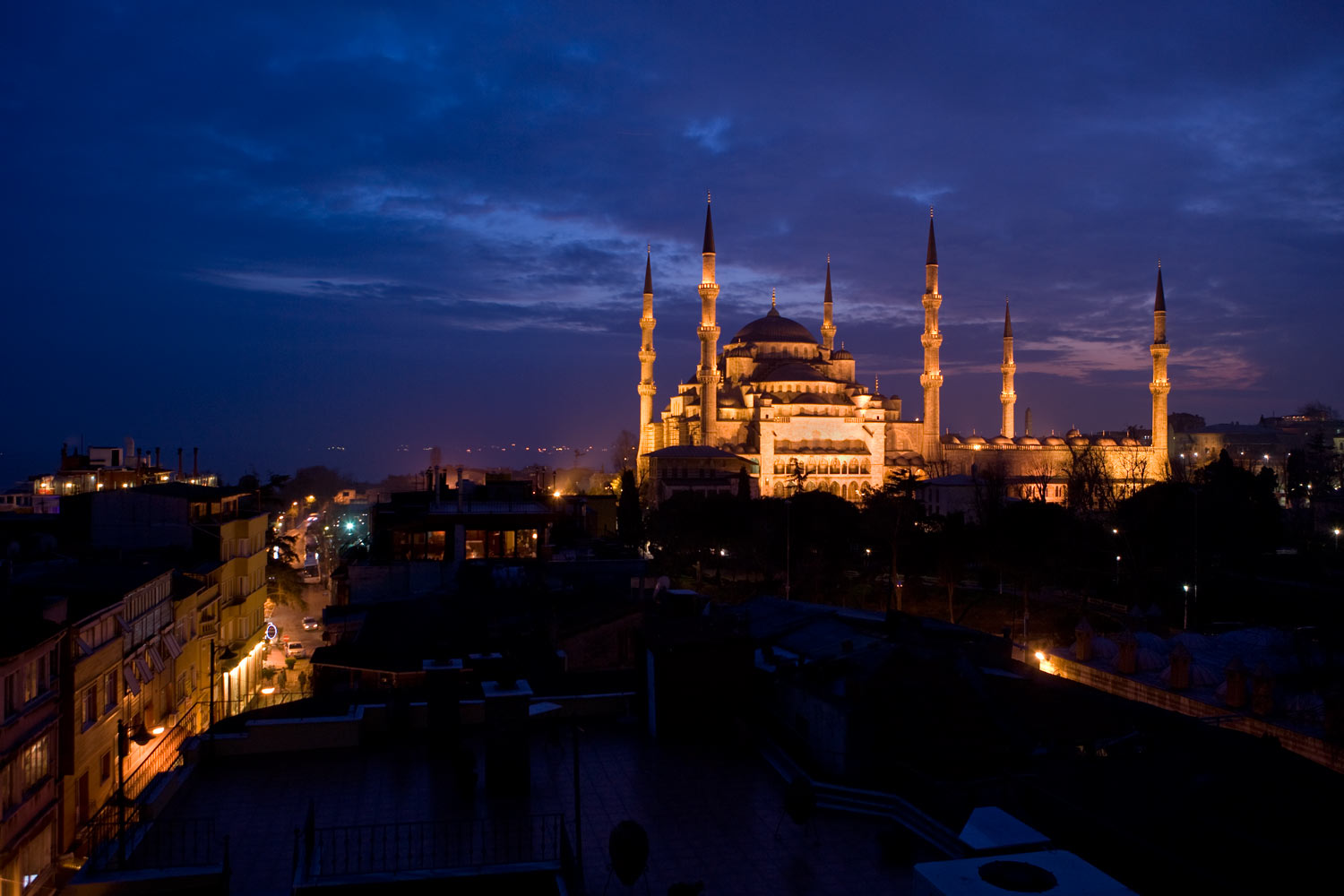 Blue Mosque in Istanbul, Turkeyfor The New York Times
