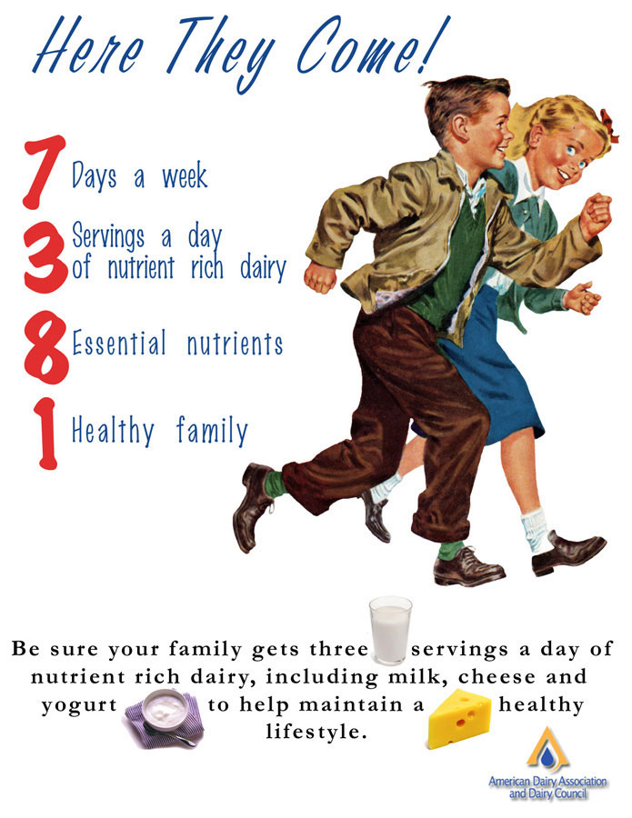 including milk, cheese and yogurt to maintain a healthy lifestyle