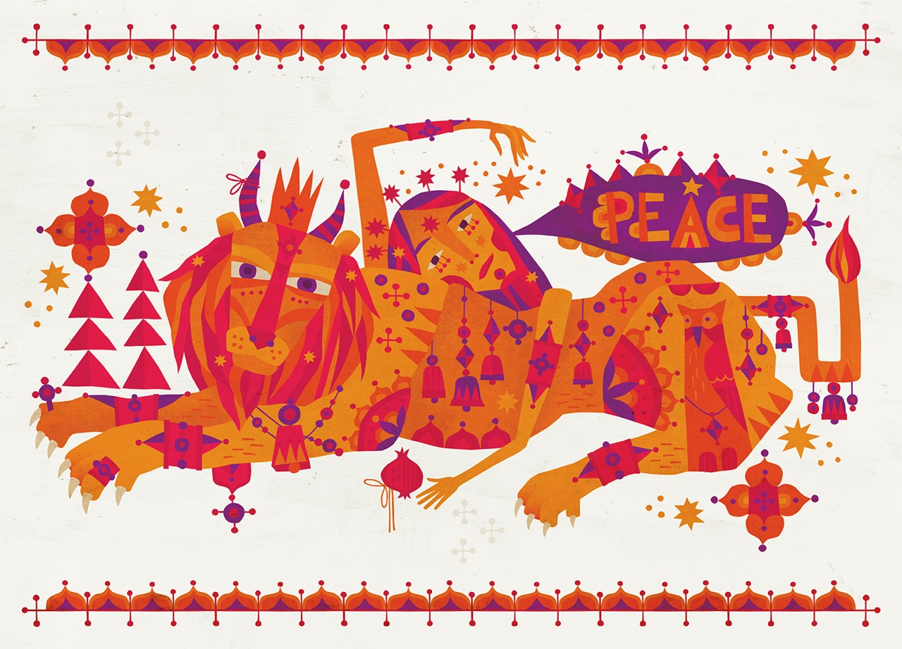 DGallagher-Holiday-Peace-Lion-2018