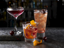 GroupDrinksAppleCoolerOldFashionedBlackCherryManhattan