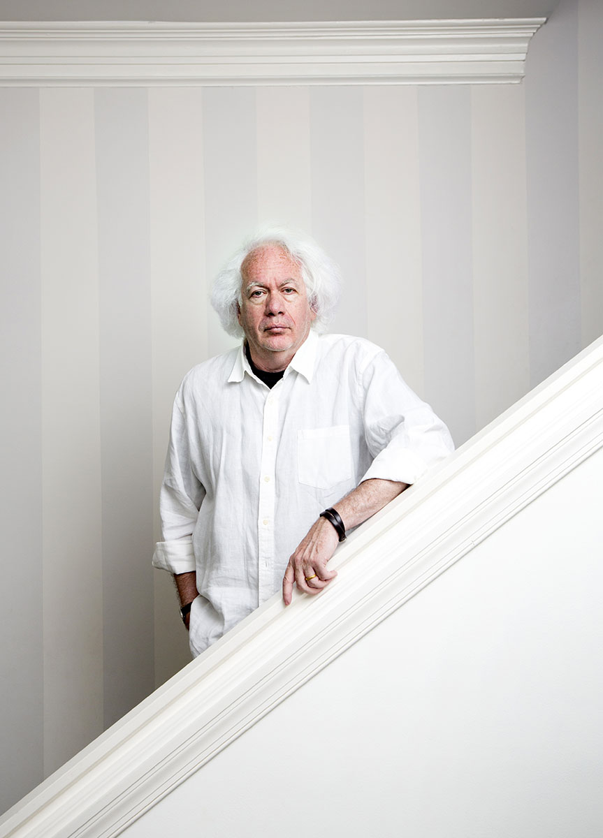 "American author and literary critic Leon Wieseltier at his home in Washington, DC.Wieseltier is the long-serving literary editor at the New Republic has won the Israel Dan David Prize Board in 2013 for being ""a foremost writer and thinker who confronts and engages with the central issues of our times, setting the standard for serious cultural discussion in the United States."""