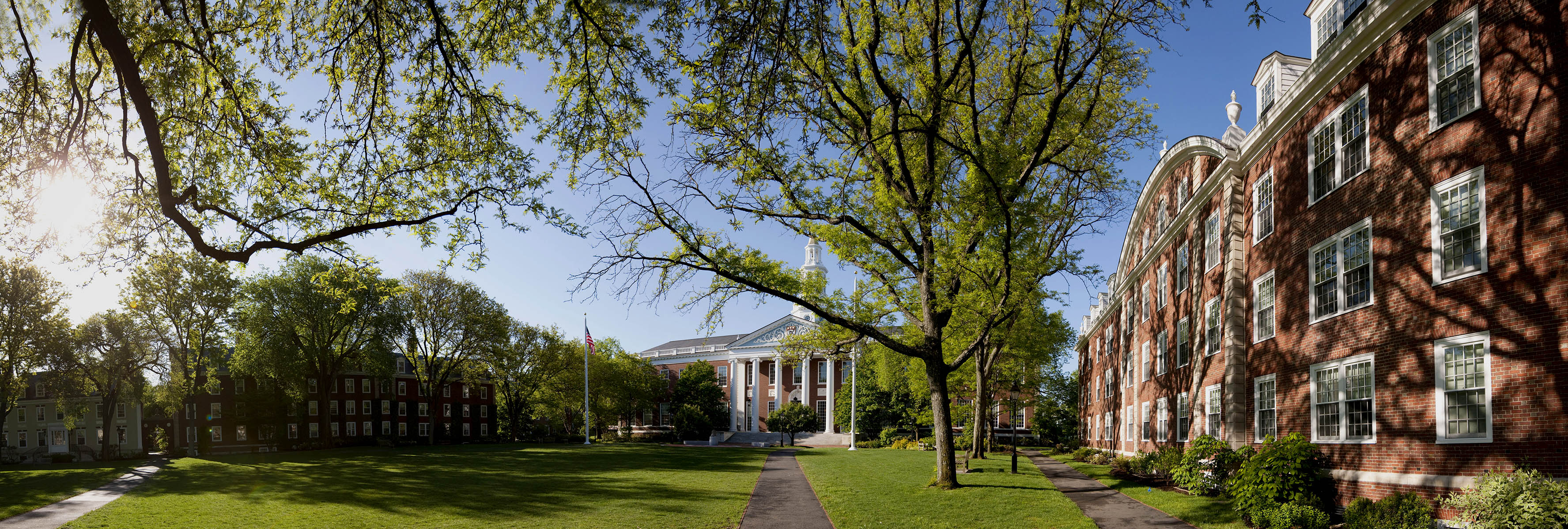 Harvard Business School campus.Photograph by Brooks Kraft