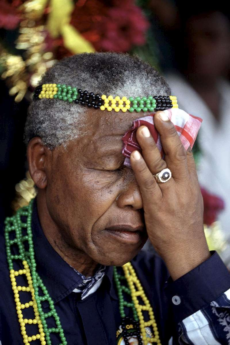 After more then 27 years in jail as an anti-apartheid activist,   Nelson Mandela lead a 1994 campaign for President as a member of the African National Congress (ANC),  in the first free elections in South Africa in 1994.  Mandela has received more than 250 awards over four decades, including the 1993 Nobel Peace Prize.
