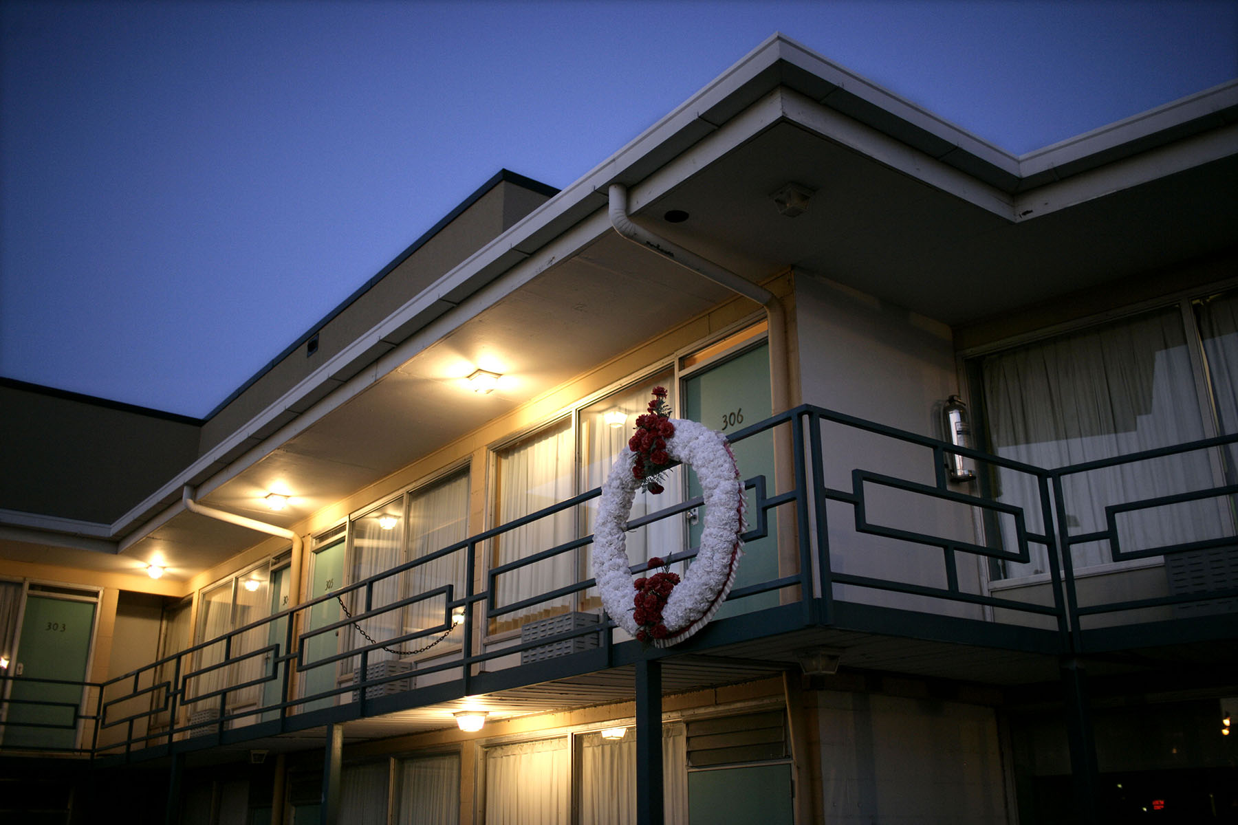 Dr. Martin Luther King, Jr. was asassinated at the Lorraine Motel in Memphis, TN on April 4, 1968.    The site is now part of the National Civil Rights Museum.Photo by Brooks Kraft/Corbis
