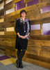 <p>Danielle Brian '82,  Executive Director of Project on Government Oversight (POGO) in Washington, DC.    Brian had the open wood walls designed as a symbol of the organization's work.</p>