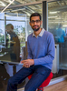 Sundar Pichai,  CEO of Google,  in his office at Google Headquarters in Mountain View, CA.   Pichai  oversees Android, Chrome, and Google Apps.