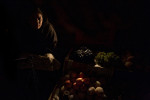 &quot;Ruchi&quot;, a mother of five, sells fruit on the side of the road leading out from Kathmandu, Nepal.