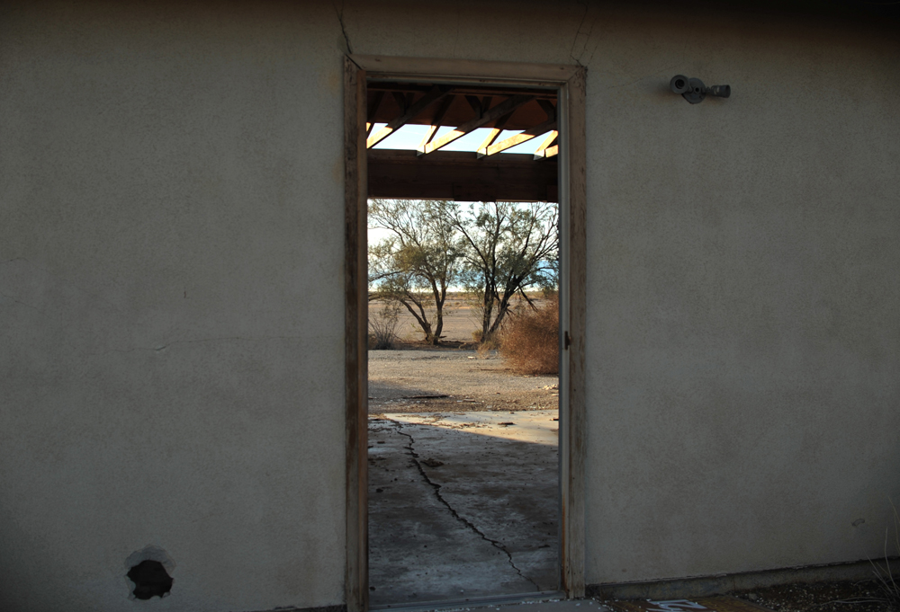 An abandoned house, near Niland.