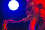 Pharoah Sanders performs at The Promontory.