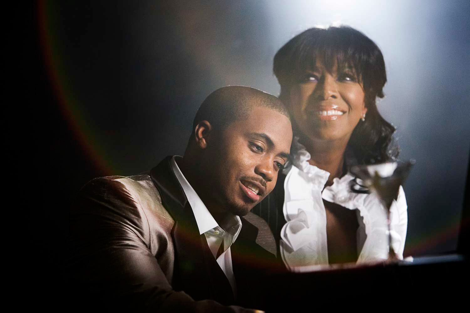 Nas and Natalie Cole