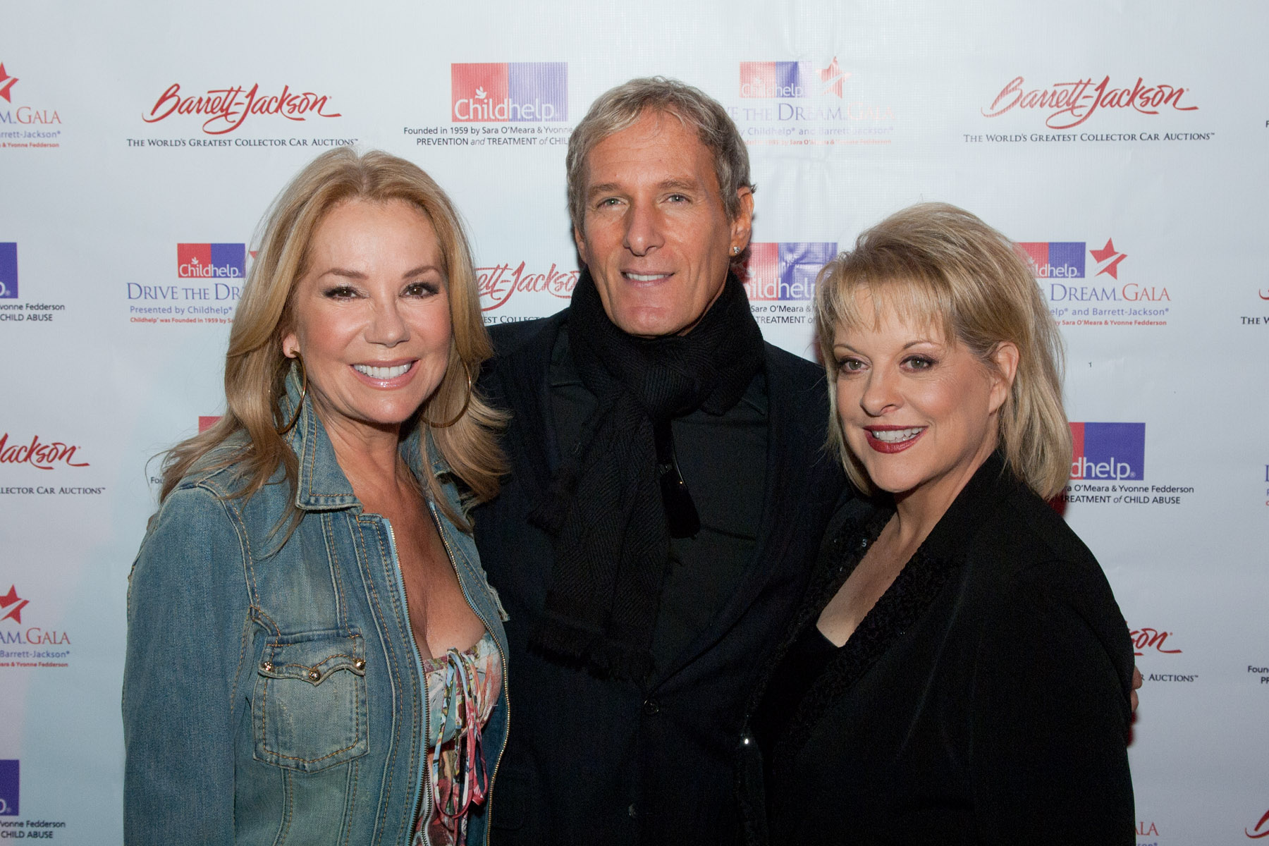 Kathie Lee Gifford, Michael Bolton, Nancy Grace