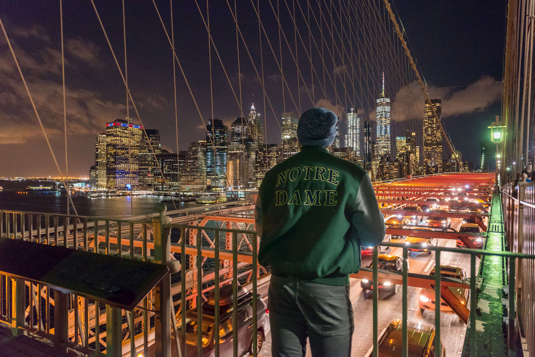 November 8, 2017; 2017 Department of Civil and Environmental Engineering and Earth Science, (CEES), Junior Class Field Trip; New York City Behind-the-Scenes Infrastructure. (Photo by Barbara Johnston/University of Notre Dame)