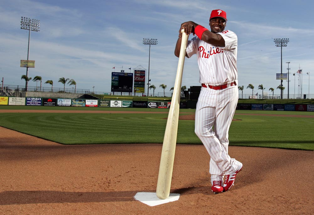 Philadelphia Phillies first baseman Ryan Howard.