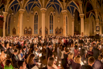 Easter Vigil mass presided by Rev. Peter D. Rocca, C.S.C., in the Basilica of the Sacred Heart.
