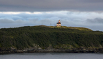 September 13, 2018; Ferryland Head Lighthouse on Avalon Peninsula of Ferryland, Newfoundland and Labrador, Canada.  (Photo by Barbara Johnston/University of Notre Dame)
