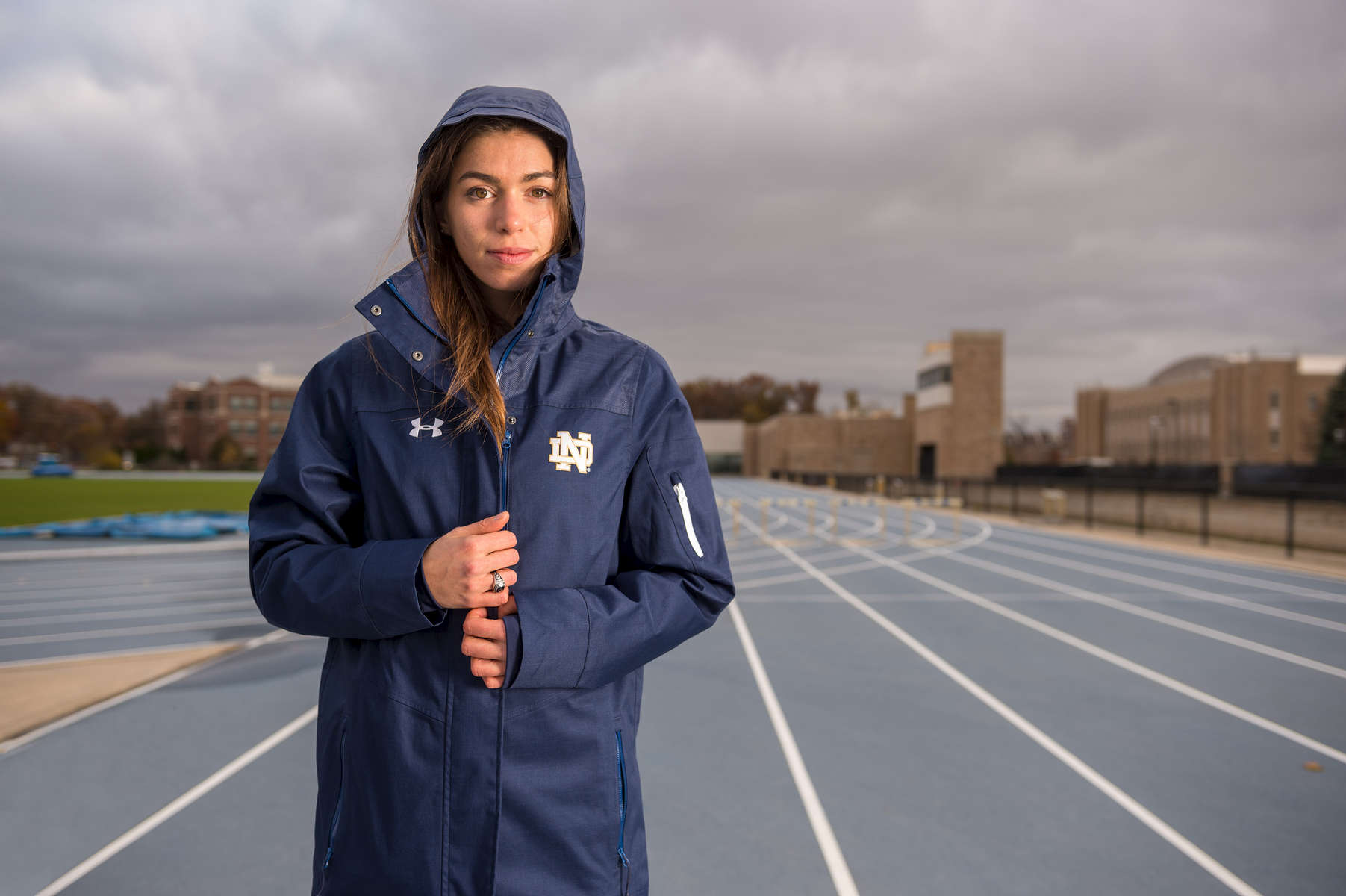 November 16, 2017; Jessica Harris - Strong of Heart. (Photo by Barbara Johnston/University of Notre Dame)