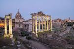 October 13, 2018; Roman Forum, Rome, Italy. (Photo by Barbara Johnston/University of Notre Dame)
