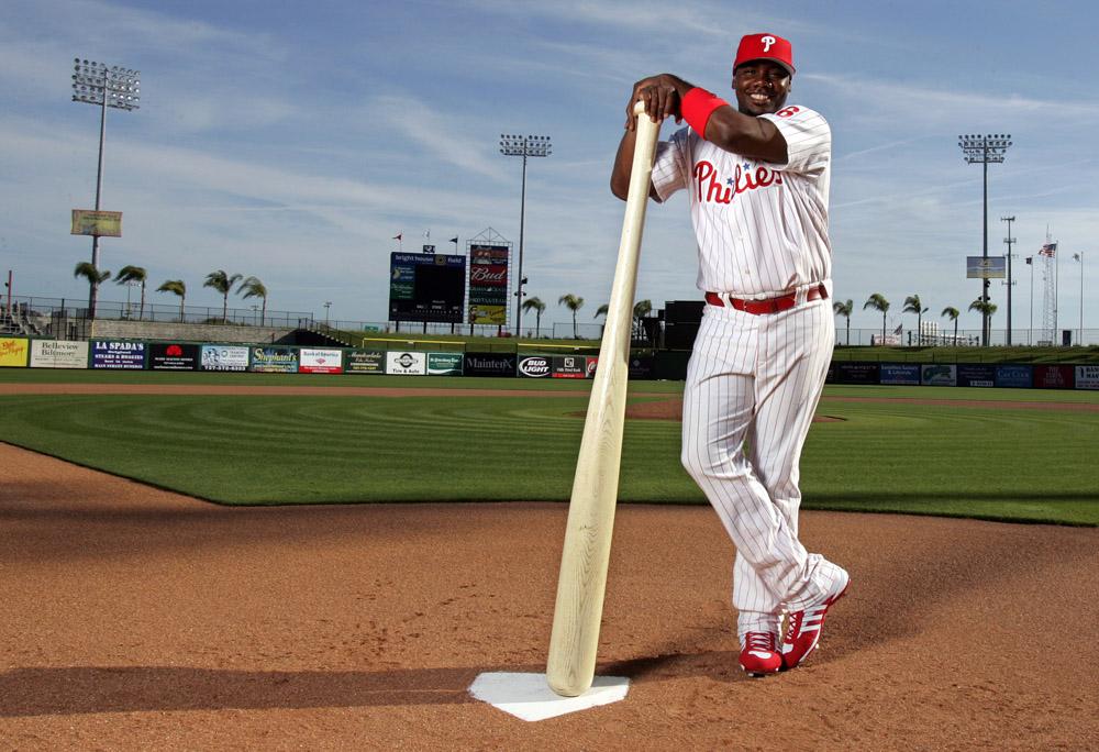 Philadelphia Phillies first baseman Ryan Howard.